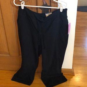 Tek gear black workout capris